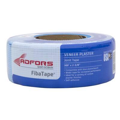 FibaTape Veneer Plaster 2-3/8 in. x 300 ft. Self-Adhesive Mesh Drywall Joint Tape