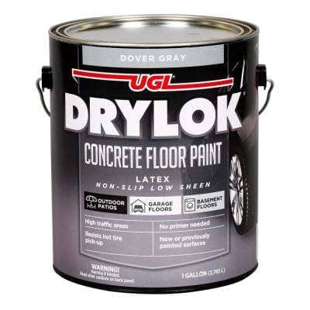 1 gal. Dover Gray Concrete Floor Paint