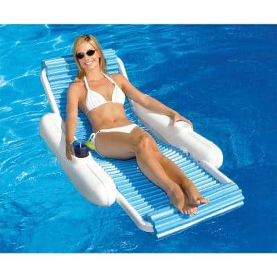 Eva Sunchaser Swimming Pool Floating Lounge Chair