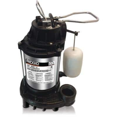1/3 HP Stainless Steel Dual Suction Sump Pump