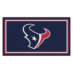 NFL - Houston Texans 3 ft. x 5 ft. Ultra Plush Area Rug