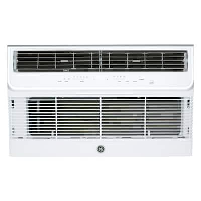 11,800 BTU 230/208-Volt Heat Pump Built-In Room Air Conditioner in White