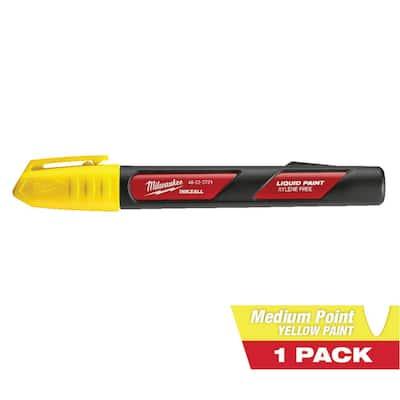 INKZALL Yellow Paint Marker