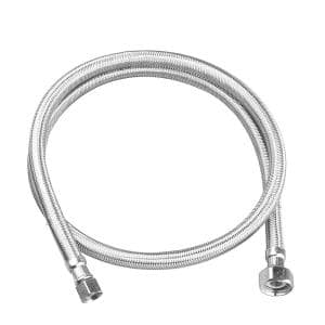 3/8 in. Compression x 1/2 in. FIP x 48 in. Braided Stainless Steel Faucet Supply Line