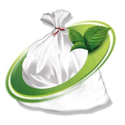 60 Gal. 38 in. x 58 in. 1.3 Mil Clear Rodent Repellent Trash Bags (100-Count)