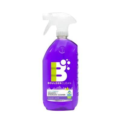 28 oz. Clean Natural Granite and Stainless Steel Cleaner Lavender Vanilla