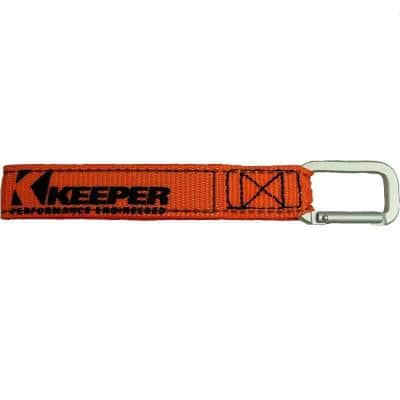 Orange Wrap-It-Up Carabiner Straps