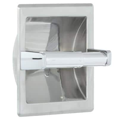 Futura Recessed Toilet Paper Holder in Chrome