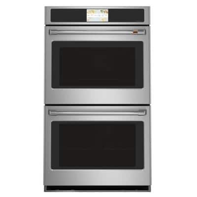 30 in. Double Electric Wall Oven with Convection Self-Cleaning in Stainless Steel
