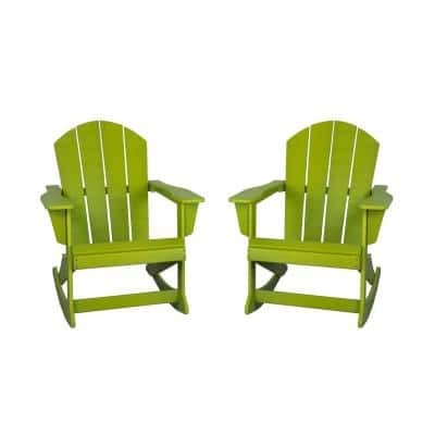 Rocking Adirondack Chairs Patio Chairs The Home Depot