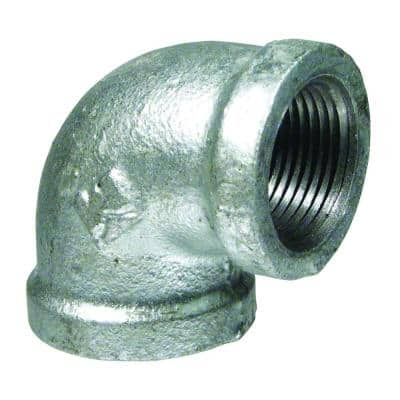 3/4 in.Galvanized Malleable Iron 90° FPT x FPT Elbow