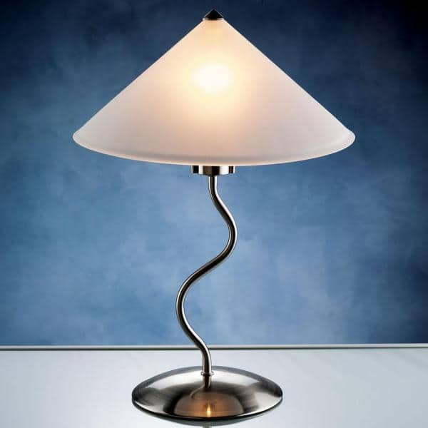 Reviews For Lumisource 19 In Brushed, Doe Li Touch Lamp