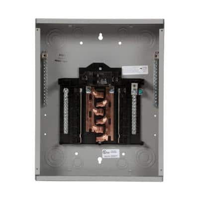 PN Series 100 Amp 12-Space 24-Circuit Main Breaker Plug-On Neutral Load Center Indoor with Copper Bus