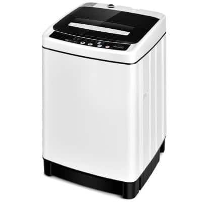 1.5 cu. ft. High Efficiency Full-Automatic Portable Top Load Washer Dryer with Child Lock in White-UL and ETL Certified