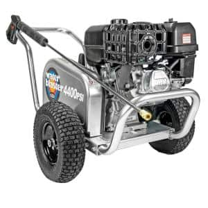 Aluminum Water Blaster ALWB60825 4400 PSI at 4.0 GPM 420 Belt Drive Cold Water Pressure Washer