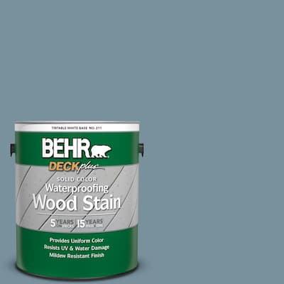 1 gal. #SC-113 Gettysburg Solid Color Waterproofing Exterior Wood Stain