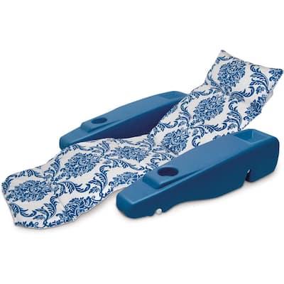 Blue Royal Hawaiian Adjustable Chaise Lounge
