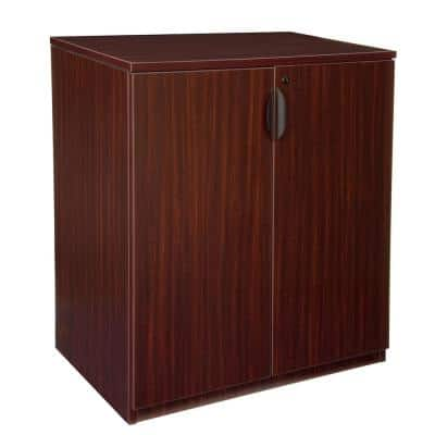 Legacy Mahogany Stand Up Storage Cabinet
