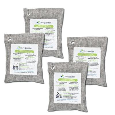 Air Purifying Bamboo Charcoal Bag, 7.1 oz (4-Pack)