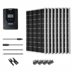 800-Watt 24-Volt Monocrystalline Solar Starter Kit for Off-Grid Solar System