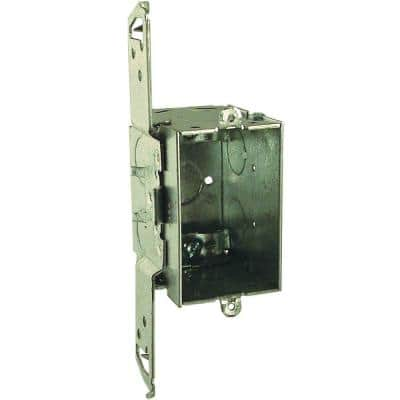 3 in. x 2 in. Gangable Switch Electrical Box with NMSC Clamps and Bracket