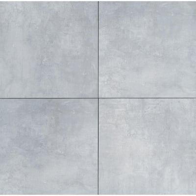 24 in. x 24 in. Square Beton Gray Matte Porcelain Paver Floor Tile (14 Pieces/56 sq. ft./Pallet)