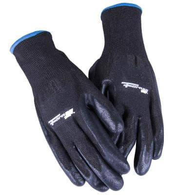 Size M PU Coated Cut 5 Resistant Gloves