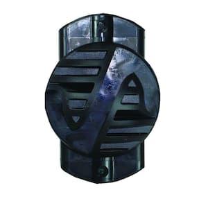 3-in-1 Black Multi-Purpose Insulator (100-Pack)