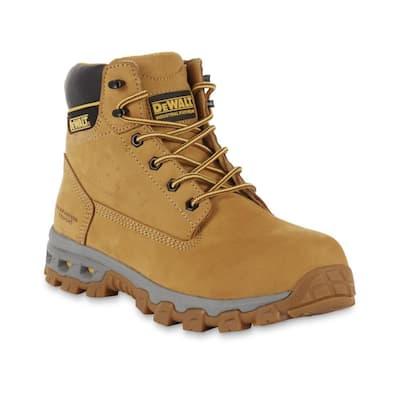 Men's Halogen 6'' Work Boots - Steel Toe - Wheat Size 9.5(M)
