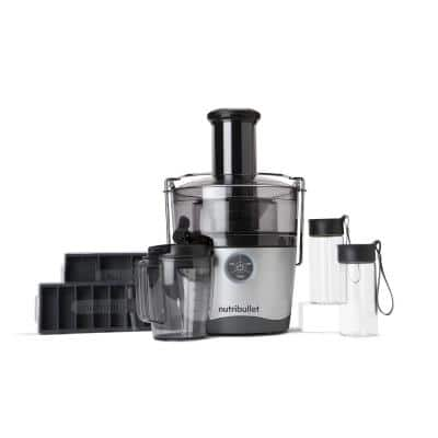 Pro 1000 W 67.6 oz. Stainless Steel Juicer with 27 oz. Pitcher