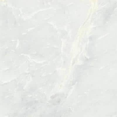 Kalta Bianco 12 in. x 12 in. Marble Floor and Wall Tile (10.01 sq. ft. / case)