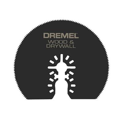 Universal Dual Interface Wood and Drywall Oscillating Tool Blade