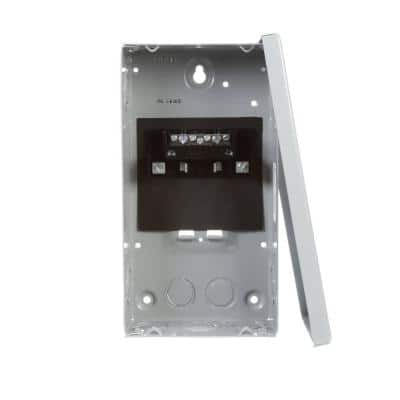 EQ 60 Amp 2-Space 4-Circuit Main Lug Surface Mount Load Center