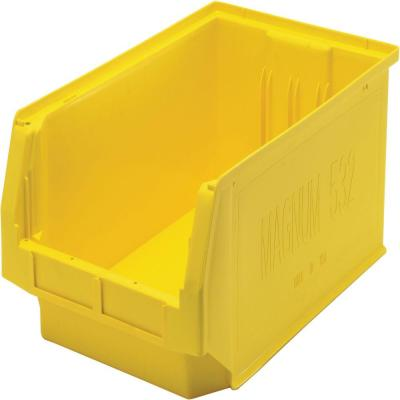 Magnum 8-Gal. Storage Tote in Yellow (6-Pack)