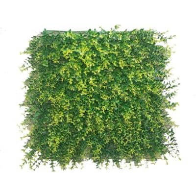 20 in. H x 20 in. W GorgeousHome Artificial Boxwood Hedge Greenery Panels,Ficus (12-pc)