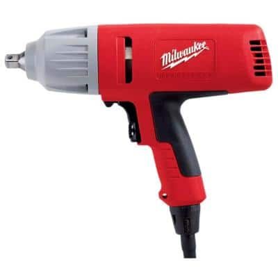 1/2 in. Square Drive Impact Wrench with Detent Pin Socket Retention