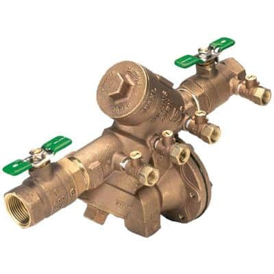 1 in. Brass Reduced Pressure Backflow Preventer