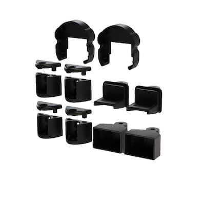 Pellinore Satin Black Angle Bracket Kit