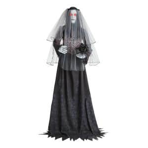 6 ft. Animated Haunting Ghost Bride