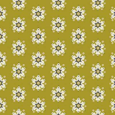 Artisans 36 in. x 54 in. Romanov Medallion Fabric by the Yard