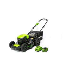 20 in. 40-Volt Battery Cordless Push Lawn Mower with 4.0 Ah Battery and Quick Charger