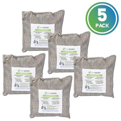 Air Purifying Bamboo Charcoal Bag, 17.6 oz (5-Pack)