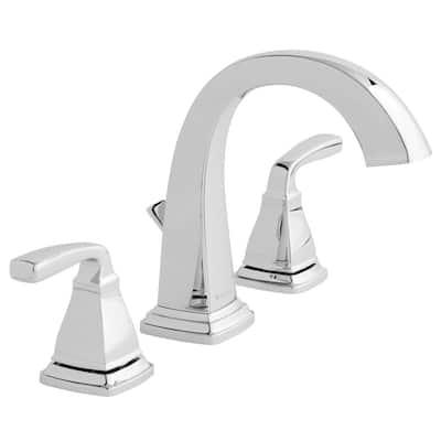 Mason 8 in. Widespread 2-Handle High-Arc Bathroom Faucet in Chrome