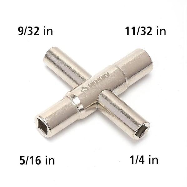 Cobra Plumbing PST154 4-Way Sillcock Key