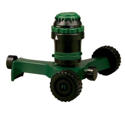 Gear Drive Sprinkler on Base, 5000 sq. ft.