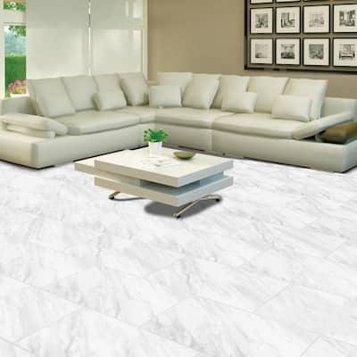 Kolasus White 12 in. x 24 in. Matte Porcelain Floor and Wall Tile (14 Cases/224 sq. ft./Pallet)