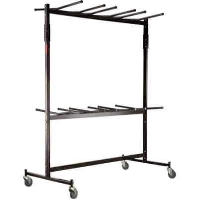 1320 lbs. Weight Capacity Double-Tier Hanging Chair Truck Holds Up to 84 Folding Chairs