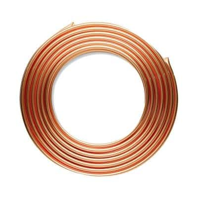 3/8 in. x 10 ft. Soft Copper Refrigeration Coil Tubing