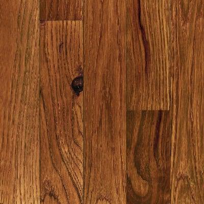 Oak Gunstock 3/4 in. Thick x 3-1/4 in. Wide x Random Length Solid Hardwood Flooring (20 sq. ft. / case)