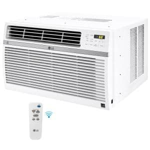 8,000 BTU Window Smart (Wi-Fi) Air Conditioner with Remote, ENERGY STAR in White